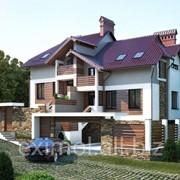 Проекты фасадов домов фото