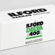 Фотопленка ILFORD DELTA 400 Professional 120 фото