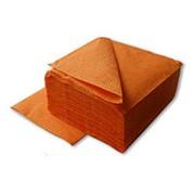 Салфетки LIME 2-сл, 33*33 см, 125 шт, оранжевые фото