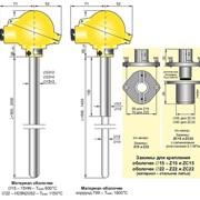 Промышленные датчики температуры тип СТU под зажимные соединители фото