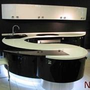 Кухонные столешницы, барные стойки, подоконники с искусственного камня Staron, Corian, Montelli, Hi-Macs, Hanex фото
