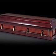 Элитный гроб Виктория Сваровски фото