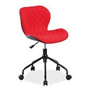 Кресло компьютерное Signal RINO (черный/красный) фото