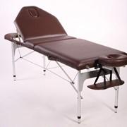 Трехсекционный складной алюминиевый стол ELITE фото