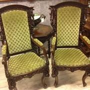 Кресла 19 век. фото