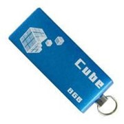 USB флеш накопитель GOODRAM 8Gb Cube blue (PD8GH2GRCUBR9) фото