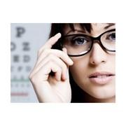 Осмотр глазного дна с фундус-линзой
