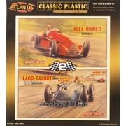 Модель Lago Talbot/Alfa Romeo Race Car 2-pack фото