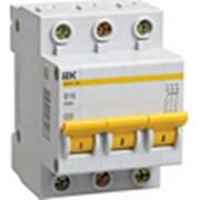 Выключатели автоматические ИЭК-EIK 1/2/3/4 полюсные от 0,5А до 4200А фото