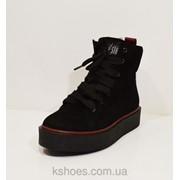 Женские замшевые ботиночки Selesta 1515 фото