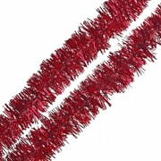 """Мишура """"Новогодняя сказка"""", 3 см, 2 м, красная, (MILAND) фото"""