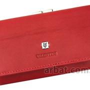 Женский кошелек 7403 PL10 VN Красный Кожа Италия фото