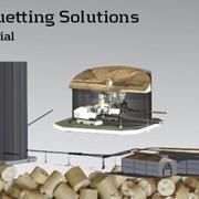 Производство индустриальных брикетов фото
