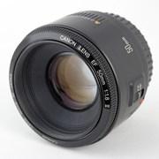 Объектив Canon EF 50 f/1.8 II (аренда) фото