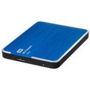 Винчестер HDD WD 2.5 USB 3.0 2TB 5400rpm My Passport Ultra Blue (WDBMWV0020BBL-EESN) фото