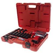 JTC-7663K2 Набор инструментов для шиномонтажа (с пневмогайковертом JTC-5812) 15 предметов в кейсе JTC фото