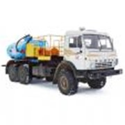 Установка для промывки скважин СИН-34 (шасси КАМАЗ-43118 6х6) фото