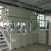 Комплекс оборудования для очистки сточных вод гальванического производства фото