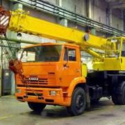 Аренда автокрана 14 тонн, стрела 14 метров Камаз фото