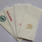 Салфетки с логотипом в Алматы фото