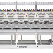 Машинная вышивка на промышленной 6-ти головочной машине фото