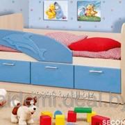 Кровать детская Дельфин- Черепаха фото