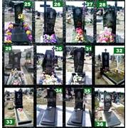 Надгробие из лабрадорита фото