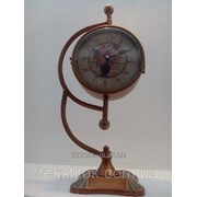 Часы металлические двухсторонние 45см фото
