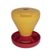 Поилка / кормушка 6,0 л, Ø 27 см. высота 32 см. высококачественный пластик / арт. 52.02.23000/ фото
