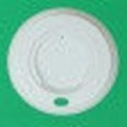 Крышка d.79мм с питейником для бум. стаканов 270мл (100шт/упак) (1000шт/кор) фото