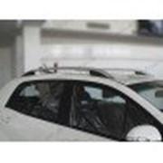 Рейлинги на крышу Fiat Doblo 2 10- длинная база, серые, аbs фото