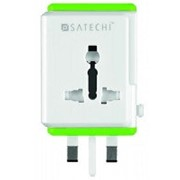 Умный роутер Satechi Smart Travel Router / Travel Adapter with USB Port (ST-STAW) фото