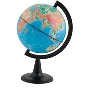 Глобус физический, 15 см, на круглой подставке (Глобусный мир) фото