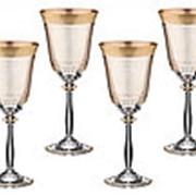 "Набор бокалов для вина 6 шт. ""БЛАНКО"" арт.666-030 Combi фото"