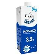 Молоко ультрапастеризованное 3,2%, 950г фото