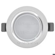 Светодиодный спот, серия оптимум , gu10, 5w, холодный белый фото