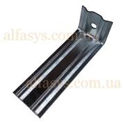 Кронштейн оцинкованный 150 мм с ребрами жесткости (150х50х50х2мм) фото