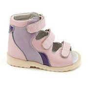 Сурсил-Орто Детская ортопедическая обувь Sursil-ORTO 11-035, Цвет Розовый, Размер 27 фото