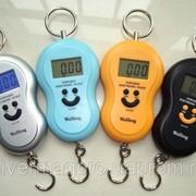 Весы электронные (кантер) до 40кг (точность 10г) с батарейками фото