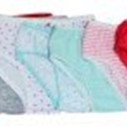 Трусы детские для девочки (8 шт. в упаковке) фото