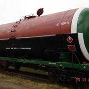 Вагон-цистерна для вязких нефтепродуктов, модель 15-011-03 фото