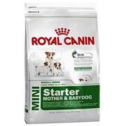 Mini Starter M&B Royal Canin корм для щенков и сук, Пакет, 3,0кг фото