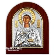Святая Параскева - Икона С Серебром И Позолотой Код товара: ОGOLD фото