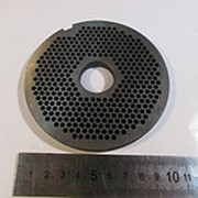 710.95 Решетка №1 для мясорубки МИМ 500 (Д-105/25мм, раб. отв. 3мм) фото