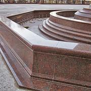 Фонтаны из гранита. Изготовление фонтанов гранитных в Киеве фото