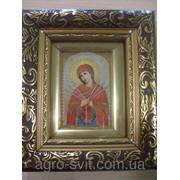 Икона пресвятой Богородицы Семистрельная общий размер 130*150 фото