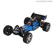 """Автомобиль р/у WL Toys """"Wave Runner"""" (мощный двигатель, синий, до 40 км/ч, 34 см, аккумулятор) фото"""