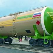 Вагон-цистерна для перевозки светлых нефтепродуктов (с нагрузкой на ось 25 тс) 15-195 фото