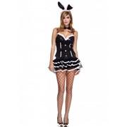 Карнавальный костюм зайчика в стиле бурлеск ML-70505 фото