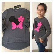 Ангоровая туника для девочек Минни Маус (разные цвета) фото